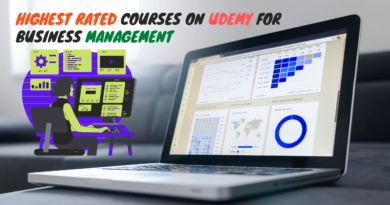 Highest Rated courses on udemy for Business Management